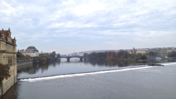 Moldau genom Prag
